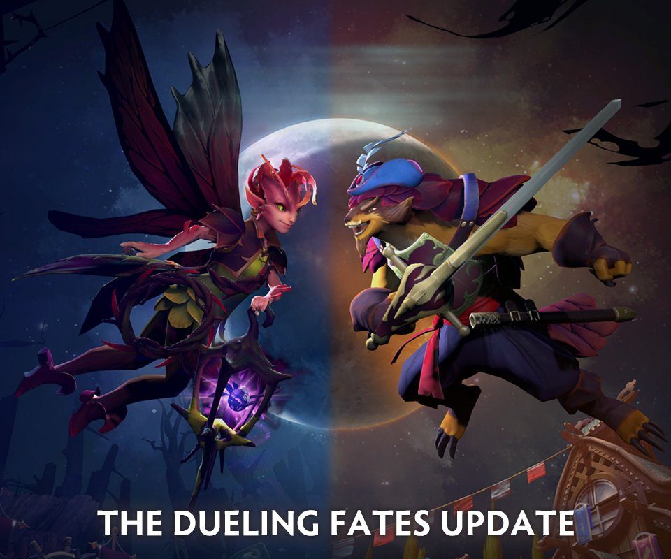The Dueling Fates Update -7.07 For Dota 2 Its Hot